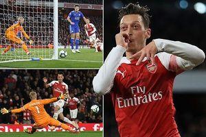 Arsenal thắng 7 trận liền nhờ phong độ chói sáng của Ozil