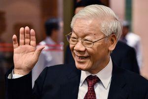 Tổng bí thư Nguyễn Phú Trọng trong ngày đắc cử Chủ tịch nước