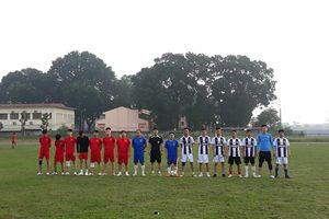 6 đội bóng nam nữ tham gia ngày hội thể thao Cty SSNewtech Vina