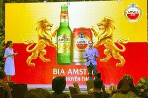 Ra mắt nhãn hiệu bia Amstel