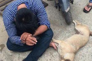 Trộm chó bị truy đuổi bằng ôtô, đánh tử vong