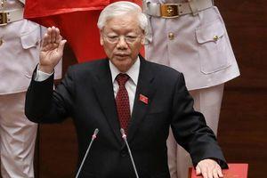 Tổng Bí thư Nguyễn Phú Trọng tuyên thệ nhậm chức Chủ tịch nước