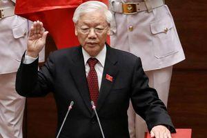 Toàn cảnh lễ tuyên thệ nhậm chức của tân Chủ tịch nước