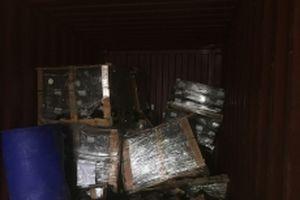 Công ty Posco SS Vina nhập lậu phụ tùng ô tô trà trộn thép phế liệu