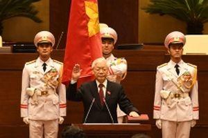 ng chí Nguyễn Phú Trọng tuyên thệ nhậm chức Chủ tịch nước