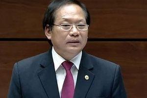 Thủ tướng đề nghị QH miễn nhiệm chức bộ trưởng TT-TT với ông Trương Minh Tuấn
