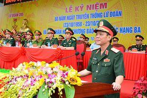 Lữ đoàn 205 đón nhận Huân chương Bảo vệ Tổ quốc hạng Ba