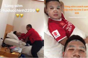 Trước thềm AFF Cup 2018, HLV Park Hang-seo đắp mặt nạ cho trò cưng