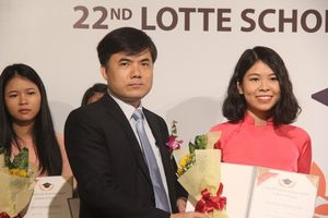 78 sinh viên nhận học bổng Lotte Foundation