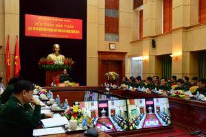 Hội thảo bản thảo 'Lịch sử BĐBP Việt Nam giai đoạn 2009-2019'
