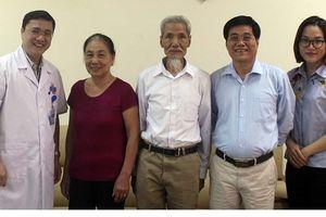 Cụ ông 77 tuổi được chữa khỏi ung thư gần 50 năm