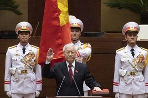 Chủ tịch nước Nguyễn Phú Trọng tuyên thệ nhậm chức trước Quốc hội, cử tri và nhân dân cả nước