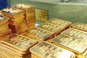Giá vàng miếng SJC giảm 40 nghìn đồng/lượng