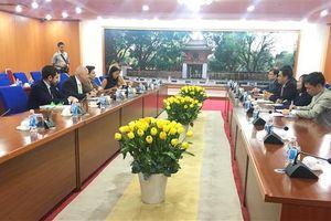 Thứ trưởng Bộ Tài chính Trần Xuân Hà tiếp Đại sứ Italia tại Việt Nam