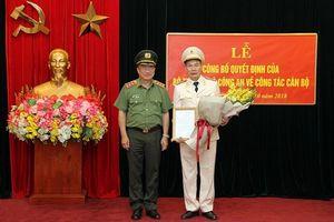 Bộ Công an bổ nhiệm Giám đốc Công an tỉnh Phú Thọ làm Chánh Thanh tra