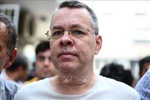Thổ Nhĩ Kỳ hy vọng Mỹ dỡ bỏ trừng phạt liên quan vụ mục sư A. Brunson