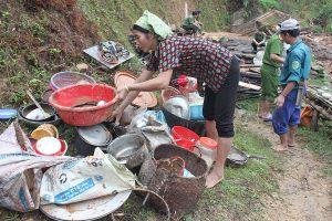 Mưa lũ 'bất thường' ở Quang Bình (Hà Giang): Tìm quỹ đất bố trí cho 7 hộ bị sập nhà hoàn toàn