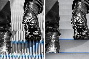 Tại sao các bậc trên thang cuốn lại có các rãnh gờ ?