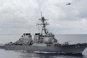 Mỹ tiếp tục điều 2 tàu chiến đi qua eo biển Đài Loan