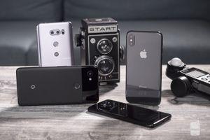 Chọn mua smartphone chụp hình tốt nhất năm 2018