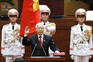 Tổng bí thư Nguyễn Phú Trọng được bầu làm Chủ tịch nước