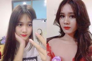 Loạt ảnh chứng minh nhan sắc nổi bần bật của Hoa khôi Học viện Phụ nữ Việt Nam 2018