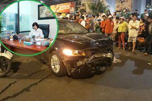 Giám đốc ngân hàng nói gì sau vụ việc bị nhầm là nữ tài xế xe BMW tông hàng loạt xe máy ở ngã tư Hàng Xanh?