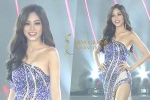 CLIP: Phương Nga trình diễn váy dạ hội quá đẹp mắt và cuốn hút tại Bán kết Miss Grand International 2018
