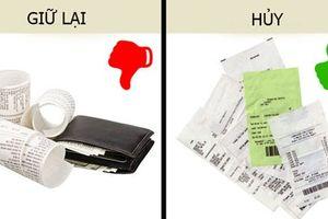 4 thứ nên bỏ khỏi ví nếu không muốn tiền mất, họa mang