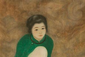 'Thiếu nữ cầm quạt' của cố họa sĩ Nam Sơn bán mức kỷ lục 12 tỷ đồng