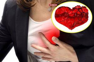 Hội chứng 'trái tim tan vỡ' thường gặp ở đối tượng nào?