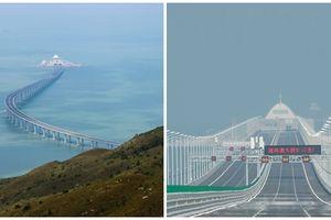 Trung Quốc thông xe cầu vượt biển dài nhất thế giới - sử dụng lượng thép đủ để xây dựng 60 tháp Eiffel