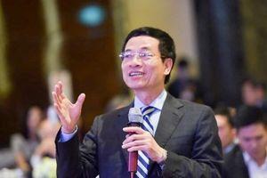 Trình Quốc hội phê chuẩn ông Nguyễn Mạnh Hùng làm Bộ trưởng Bộ Thông tin Truyền thông