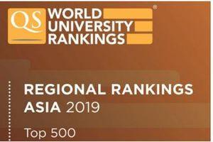 Đại học Quốc gia Hà Nội vươn lên vị trí 124 trong bảng xếp hạng QS châu Á năm 2019