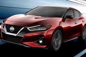 Nissan Maxima 2019 tiết lộ trước sự kiện LA Auto Show