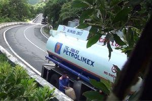 Đình chỉ công việc 4 tài xế trong vụ rút ruột xăng dầu trên đèo Hải Vân