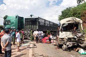 Vụ xe khách đối đầu xe tải làm 12 người bị thương: Sức khỏe các nạn nhân đã dần ổn định