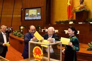 Cử tri và nhân dân vui mừng và kỳ vọng Chủ tịch nước Nguyễn Phú Trọng sẽ có nhiều dấu ấn lớn