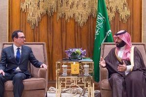 Bộ trưởng Tài chính Mỹ gặp Thái tử Saudi