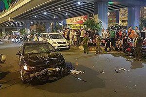 Lời khai của nữ tài xế BMW gây tai nạn ở Hàng Xanh, TP HCM