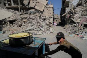 Cuộc sống hồi sinh tại Damascus (Syria) sau khi bom ngừng rơi