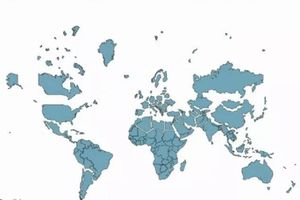 Tất cả các bản đồ thế giới trước đây đều sai hoàn toàn, đây mới là bản đồ chính xác