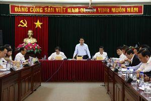 Chủ tịch UBND TP Hà Nội Nguyễn Đức Chung làm việc tại huyện Đông Anh