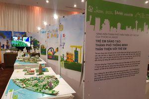 Chiêm ngưỡng loạt ý tưởng tuyệt vời của trẻ em TP.HCM về đô thị thông minh, thân thiện với môi trường