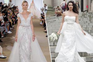 8 xu hướng váy cưới sẽ lên ngôi năm 2019