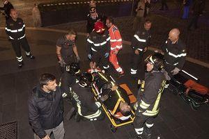 Sập thang cuốn tại Rome, CĐV của CSKA Moscow bị nghiền nát chân