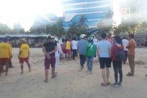 Đà Nẵng: Một du khách Trung Quốc tử vong khi đang tắm biển