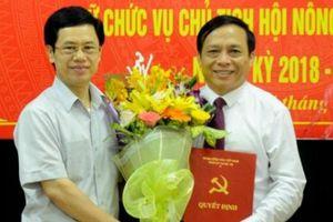 Hội Nông dân tỉnh Nghệ An có tân chủ tịch
