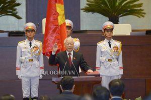 Xem lại Lễ tuyên thệ nhậm chức của Chủ tịch nước Nguyễn Phú Trọng