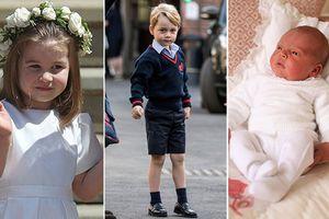 Chân dung các Hoàng tử-Công chúa trong danh sách kế vị ngai vàng Anh